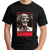 Lucio Fulci'S Zombie Horror Movie Show Black T-Shirt Size S-