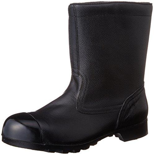 [ミドリ安全] 安全靴 JIS規格 H種 重作業対応 トゥキャップ付き 半長靴 W540N CAP メンズ ブラック 26