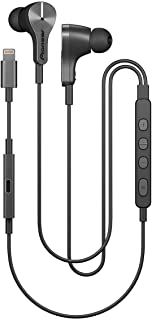 Pioneer Rayz Plus Smart Noise Cancellation Headphones In Ear Earbuds  - iPhone Compatible - Lightning - Listen & Charge - Graphite