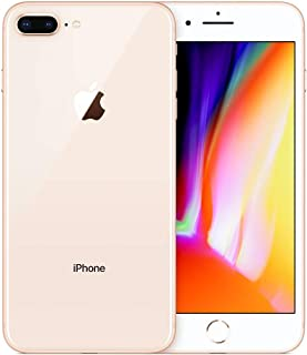 Apple iPhone 8 Plus, Verizon Unlocked, 64GB - Gold - (Renewed)