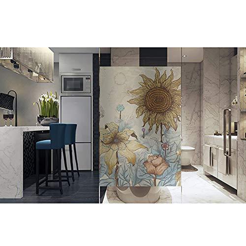 Statische bevestiging aan ramen, zonder lijm, ondoorzichtige folie, herbruikbaar, glasdecoratie voor de woonkamer