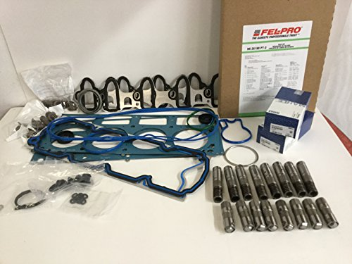 FEL-PRO Head Gasket Set+Bolts+AFM DOD Lifters Kit compatible with 05-14 Chevy GMC 5.3 5.3L(Gskts, Bolts & Lifters)
