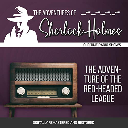 Couverture de The Adventures of Sherlock Holmes: The Adventure of the Red-Headed League