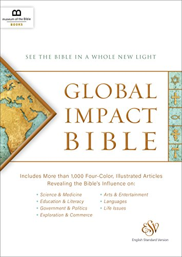 Compare Textbook Prices for Global Impact Bible: English Standard Version LeatherLuxe® Journal  ISBN 9781945470042 by Museum of the Bible Books