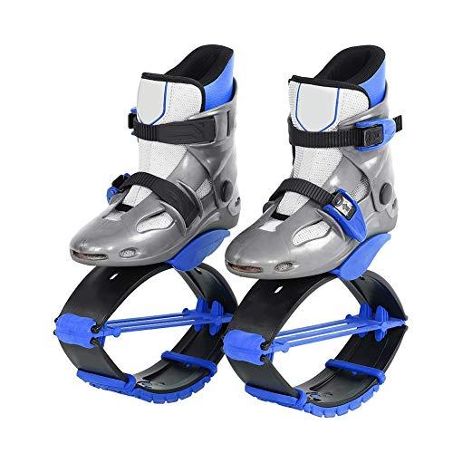 VGEBY1 Zapatos para Saltar, Zapatos duraderos para Saltar, Zapatos de Rebote para Adelgazar, Deporte Corporal, Accesorio para Ejercicios(30-32-Azul)