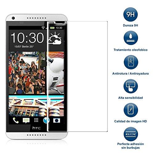 MovilCom® - Protector Cristal Templado HTC Desire 816