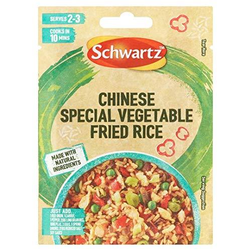 Schwartz Chinesisches Spezialgemüse Fried Reis 1x20g