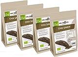 Mr. Brown BIO Chia Samen 4 Kg | aus kontrolliert biologischem Anbau | abgefüllt in Bayern | schwarz | Premium Qualität