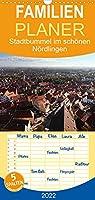 Stadtbummel im schoenen Noerdlingen - Familienplaner hoch (Wandkalender 2022 , 21 cm x 45 cm, hoch): Ein kleiner Stadtbummel durch Noerdlingen im Ries (Monatskalender, 14 Seiten )
