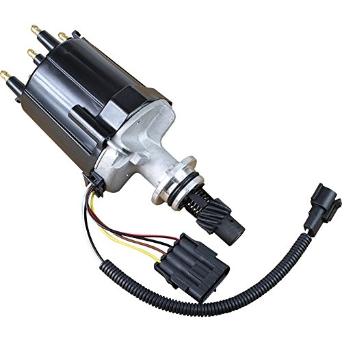 Price comparison product image AIP Electronics Complete Premium Electronic Ignition Distributor Compatible Replacement For 1982-1990 Chevrolet Chevy Buick Oldsmobile and GMC Oem Fit D3513