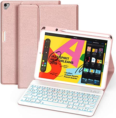 Maxfree iPad Keyboard Case 8th 7th Gen 2019 2020 iPad Pro 10 5 Air 3rd Gen 2019 2017 Detachable product image
