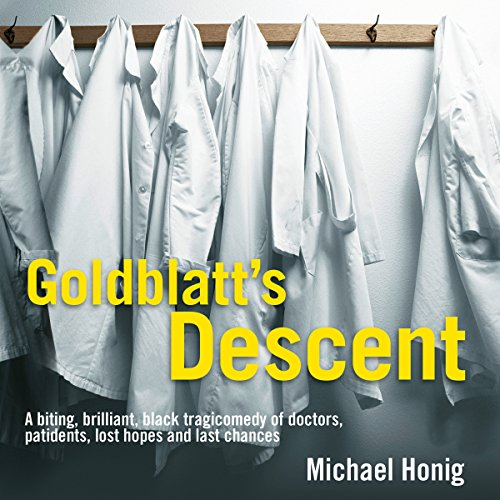 Goldblatt's Descent audiobook cover art