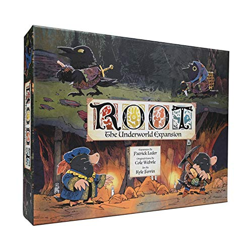 Leder Games - Root: The Underworld Expansion - Board Game (Toy)