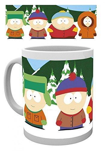 KINGAM : South Park - Taza de café con foto para niños, 315 ml, para madrastra, hermana, tía en el día de la madre, Navidad, cumpleaños, día de la mujer, Año Nuevo, Acción de Gracias, Pascua, mayo