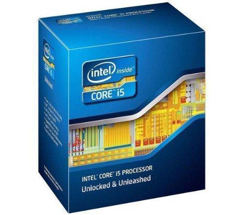 Intel Core i5 2500K - 3,3 GHz - Cache L3 6 MB - Socket LGA 1155 (Boxversion) + 3 Jahre GARANTIE