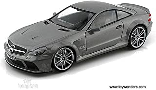 Motormax - Mercedes-Benz SL65 AMG Black Series Hard Top (118 scale diecast model car, Grey) 79161 diecast motorcycles and ...