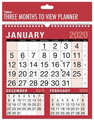 2019 Quadrat drei Monate, zum des gewundenen gebundenen Wand-Planer-Kalenders anzusehen