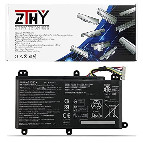 ZTHY AS15B3N Laptop Battery for Acer Predator 15 G9-591 G9-591G G9-592 G9-592G G9-593 Predator 17 G5-793 G9-791 G9-791G G9-792 G9-792G G9-793 G9-973 17X GX-791 GX-792 21X GX21-71 G9000 4ICR19/66-2