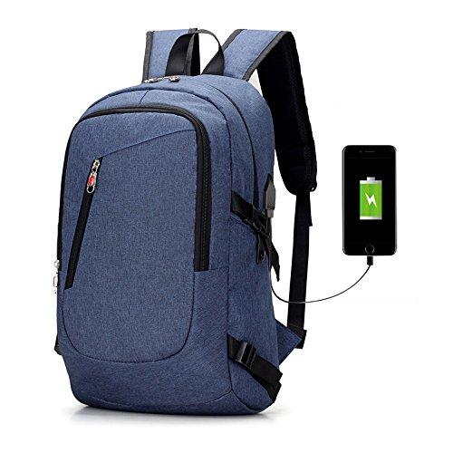Zaino per laptop da lavoro,Unisex Multiuso Antifurto Zaino con porta USB,Zaino da 16 pollici Per PC Portatile Impermeabile da uomo borsa universitaria daypack Per La Scuola Scuola, Business