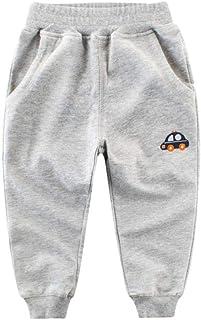 HOSD2019 otoño Ropa para niños Pantalones para niños pequeños Pantalones para bebés Pantalones de algodón para niños Panta...