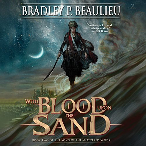 Page de couverture de With Blood upon the Sand