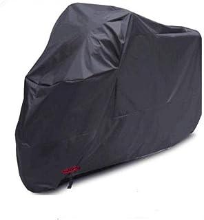 Kesoto Capa protetora durável para motocicleta ao ar livre com orifício de bloqueio 2GG preta