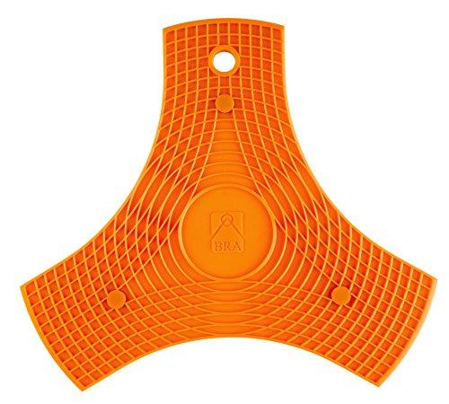 BRA Salvamanteles Silicona Naranja 2