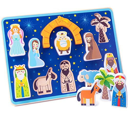 Piece on Earth Nativity Puzzle Board