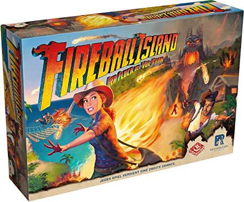Restoration Games ASMD0020 Fireball Island: Der Fluch des Vul-Khan, Mehrfarbig, bunt