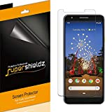 (6 Pack) Supershieldz Designed for Google (Pixel 3a) Screen Protector, 0.23mm High Definition Clear Shield (PET)