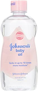 Johnson & Johnson Baby Oil Original, 14 Ounce (Pack of 2)