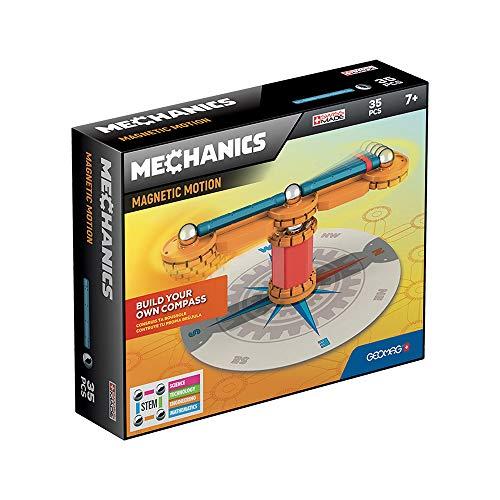 Geomag- Mechanics Motion 770 Juego de construcción magnético de 35 Piezas, Multicolor