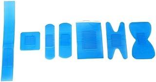 Qualicare qp7072yeso, Detectable, 7,2cm x 2,5cm, color azul (Pack de 100)