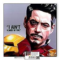 TONY STARK-Ver.4- / トニースターク/ポップアートパネル/Keetatat Sitthiket キータタット シティケット