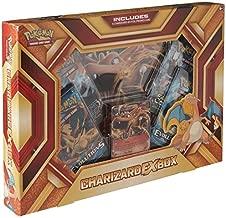 Pokemon Cards POK16CHAREXBX TCG: Charizard-EX Box Fire Blast Card Game, Multicolor