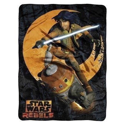 Star Wars Rebels Couvre-lit Super doux 117 X 60 cm