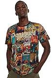 Desigual Erenesto - Camiseta para Hombre X-Large