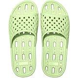 Zapatillas de Ducha para Mujeres Antideslizantes Chanclas y Sandalias de Piscina Sandalias de Baño (Verde, numeric_40)
