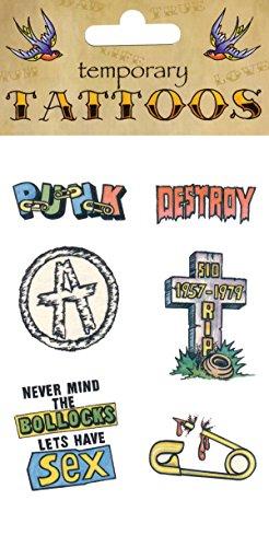 Tattoos Theme Punk (6/card)