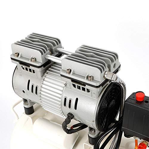 OUKANING 750W 220V 24L Flüster Silent Druckluft Kompressor 24l LuftKompressor 24l Leise Ölfreie