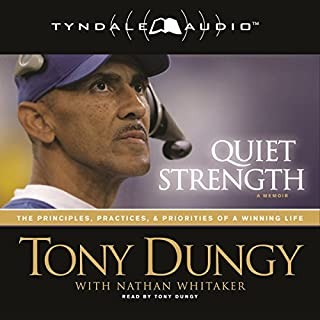 Quiet Strength audiobook cover art