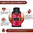 Pure CoQ10 400Mg per Serving - Max Strength - 200 Capsules - High Absorption Coenzyme Q10 Ubiquinone Supplement Pills, Extra Antioxidant for Healthy Blood Pressure & Heart #4
