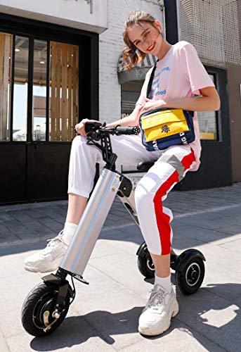 potente comercial triciclo eléctrico plegable pequeña