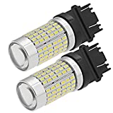 Hoypeyfiy 2X Extremely Bright 144 SMD Car 3157 3156 LED Light Bulbs for Back Up...