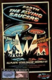Earth vs The Flying Saucers UFO Silver 3rd Edition 5-Inch Model Kit Atlantis Toy and Hobby
