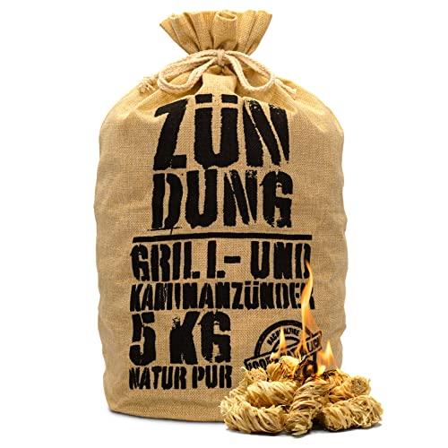 ZÜNDUNG 5 kg 100% nachhaltige Grill-...