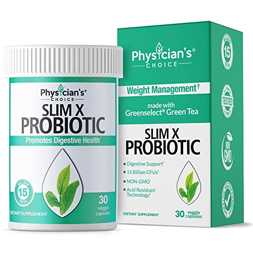 Probiotics for Women - Green Tea Extract [Clinically Proven Ingredients] Organic Prebiotics, Digestive Enzymes & Apple Cider Vinegar for Digestive Support, Detox, Cleanse & Weight Loss - Shelf Stable