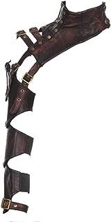 Steampunk Retro Leather Arm Sheath Armor Costume Corset warmer bolero Shrug Jacket