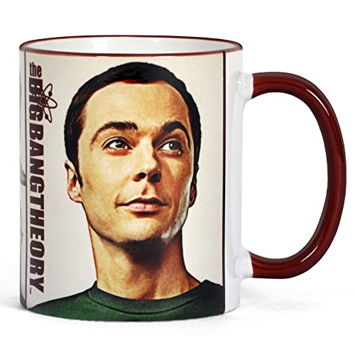 Elbenwald Big Bang Theory We Are Family Motiv Kaffeebecher 320ml Keramik