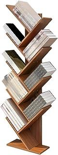 XJJUN Sling Bookshelf ,3/4 Layer ,Shelf Bookcase Rack, Free Standing Book Storage Organizer, Books/CDs/Albums/Files Holder...